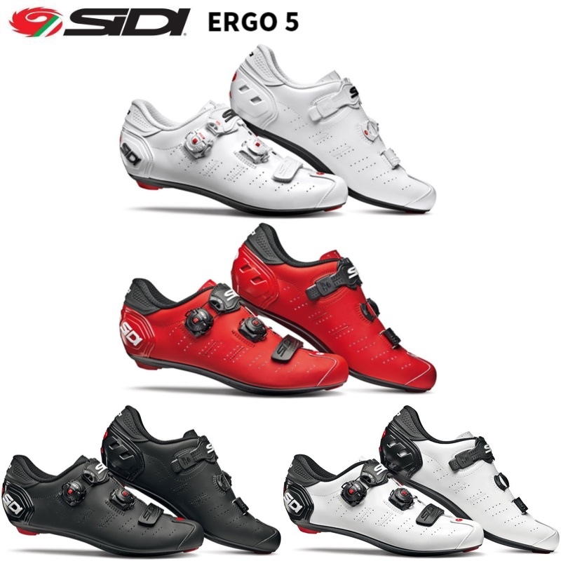2019 Sidi ERGO 5 Road Lock shoes Shoes Vent Carbon Road Shoes cycling shoes bicycle shoes