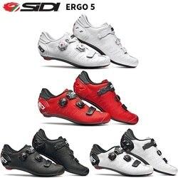 2019 Sidi ERGO 5 blokada szosowa buty buty Vent Carbon buty szosowe obuwie rowerowe buty rowerowe w Buty rowerowe od Sport i rozrywka na
