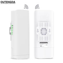цены на Wireless WIFI Router Outdoor AP CPE WIFI Repeater 1000mW Long Range 3KM 300Mbps WiFi Bridge Support OpenWRT&PoE  в интернет-магазинах