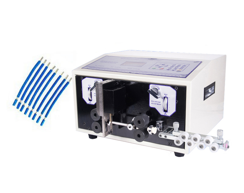 SWT508E Automatic strip Wire stripping machine computer strip wire machine skinning cutting wire 0.1 to 8mm professional welding wire feeder 24v wire feed assembly 0 8 1 0mm 03 04 detault wire feeder mig mag welding machine ssj 18
