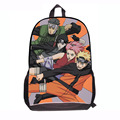 Janpanese Naruto Backpack School Bag for Boys Kids Spike Backpack Lerche Cartoon Design Fashion New 2015 Back to School