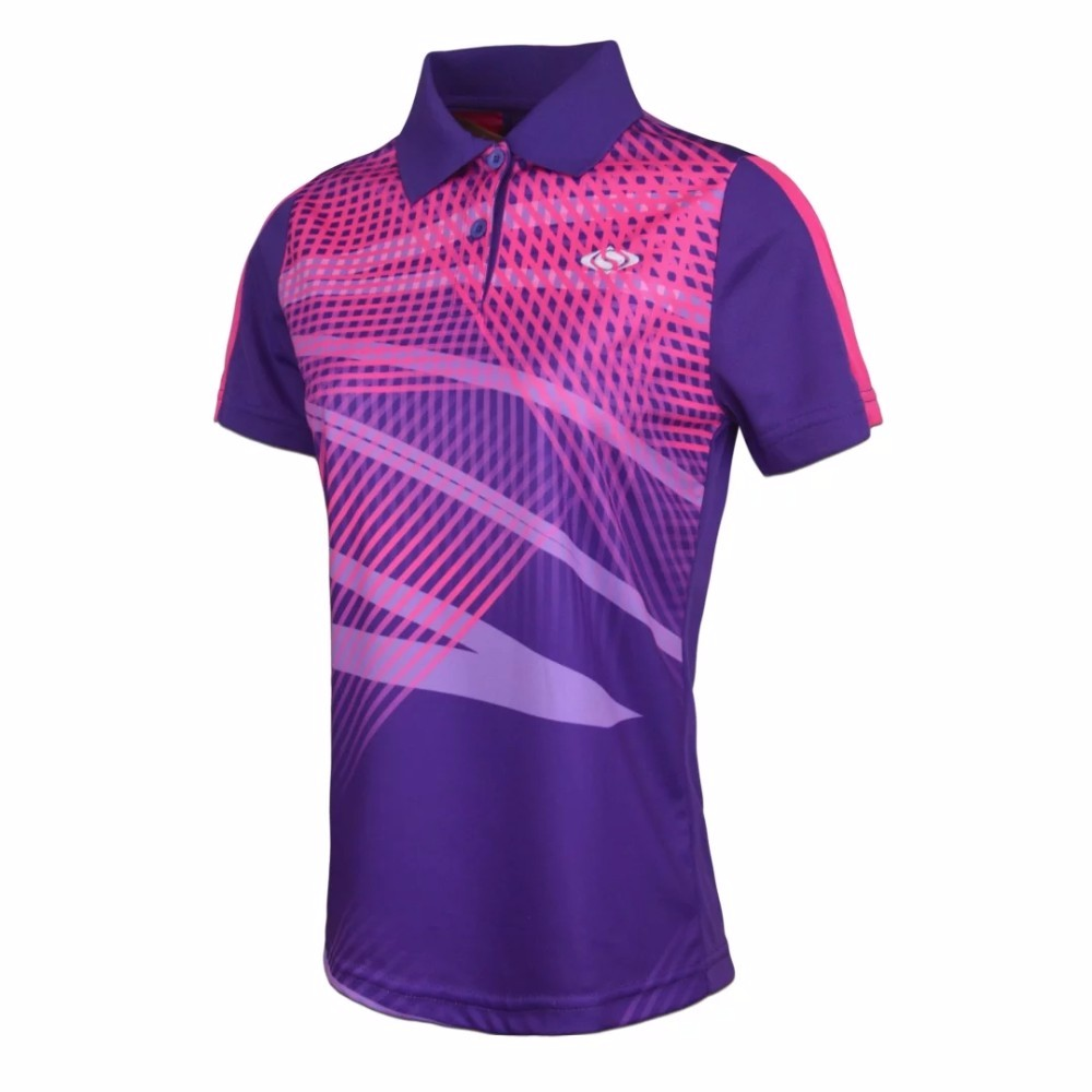 Mens Women Sportswear T Shirts Badminton Golf Wear Shirts Mens