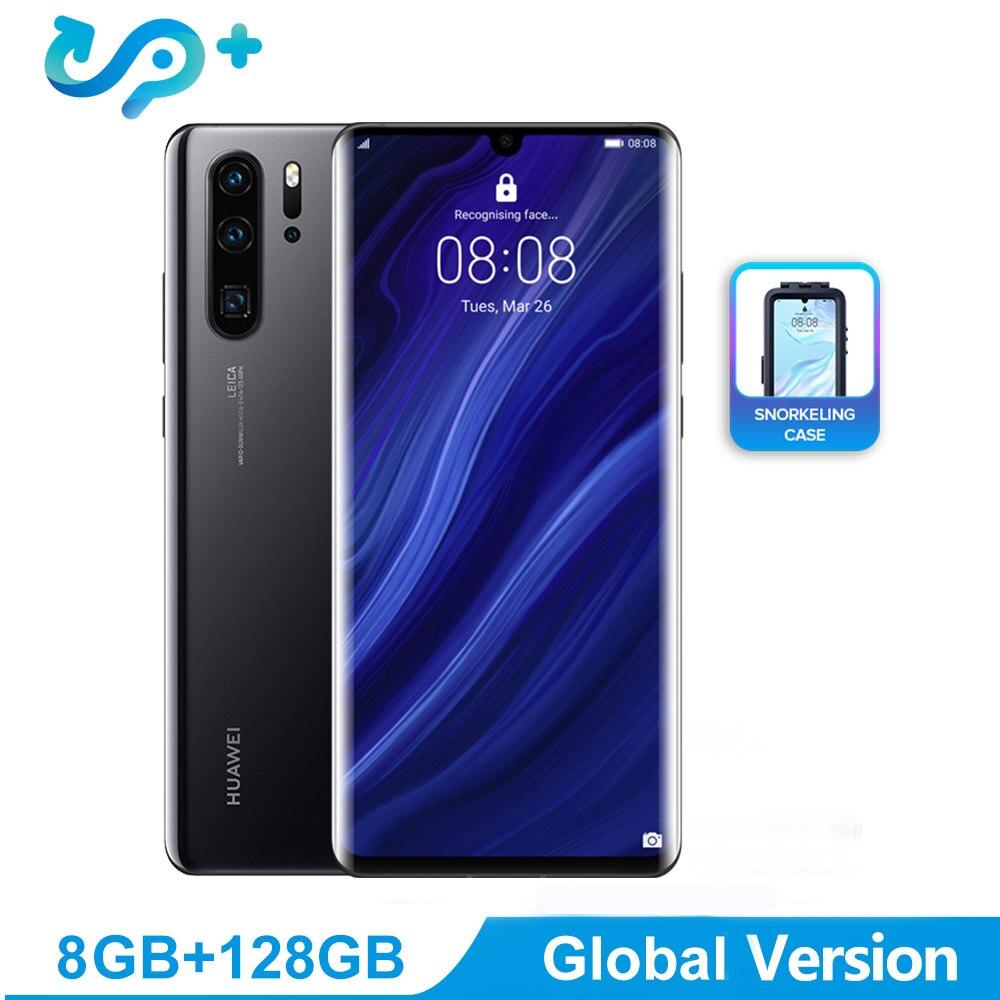 Version mondiale téléphone portable Huawei P30 Pro 6.47 pouces OLED FHD + 2340*1080 pixels écran Smartphone prise en charge NFC OTG GPS Android 9