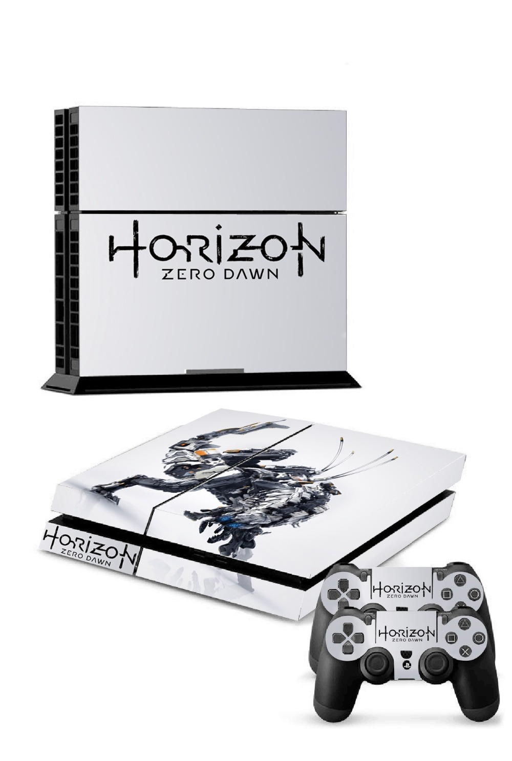 Horizon Zero Dawn Ps4 Skin Decal Sticker For Playstation4 Console Sony Playstation 4 Reg 3 And 2 Controller Skins In Stickers From Consumer Electronics On Alibaba