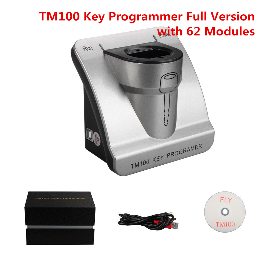 New TM100 Full Version Transpodner Key Programmer with 62 Modules Support All Key Lost Unlimited Update Online