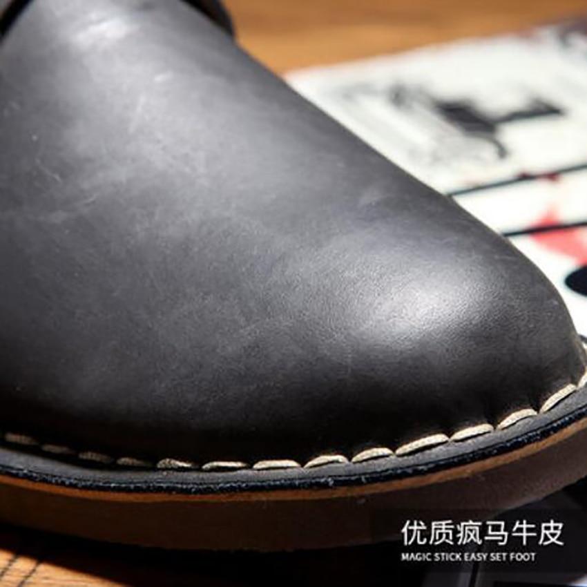 Elegantes velvet De Sapatos Partida Casuais brown Oxford Black brown Homens Mais Dos Verão Genuíno Preto Novo Britânico Veludo A Couro Pretos Toda Retro Marrom black velvet wxxFqA