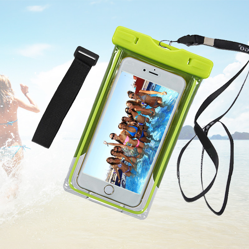 New Waterproof Pouch Underwater Universal Diving Bag Mobile Phone Camera Dry Swimming bag Case Cover For iphone Samsung Xiaomi