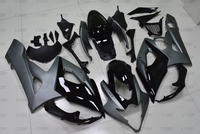 GSXR 1000 2005 Motorcycle Fairing for Suzuki GSXR1000 2005 2006 K5 Black Grey Motorcycle Fairing GSX R 1000 05 Fairings