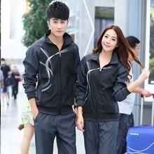 tracksuits for couples mens sweat suits zip sweatshirt & sweatpants jogging sporing track 2 piece set couple outfit