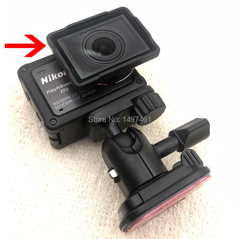 Underwater lens Protection AA 15B For Nikon KeyMission 170 Actioncam