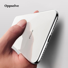 Oppselve  Ultra Thin Slim Cover Case For iPhone 8 7 Plus Crystal Clear Soft TPU Transparent Silicone Protection Capinhas Capa