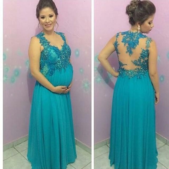Como hacer un vestido de noche para embarazadas