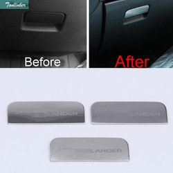 Tonlinker 1 pcs diy car style stainless steel glove box handle sequined cover case stickers for.jpg 250x250