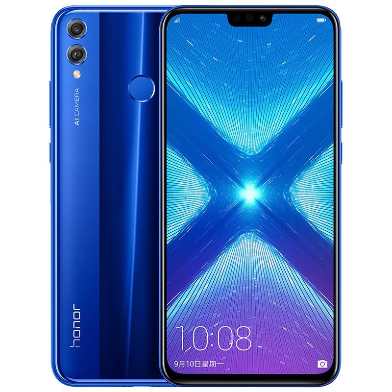 Image 2 - Global Rom Honor 8X 6.5'' full Screen OTA update Smartphone not 8x max Mobile phone Android 8.1 Octa Core fingerprint ID-in Cellphones from Cellphones & Telecommunications