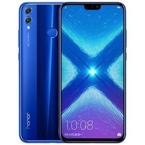 Image 2 - Honor 8X smartphone téléphone mobile 6.5 plein écran OTA mise à jour Smartphone téléphone Mobile Android 8.1 Octa Core empreinte digitale ID