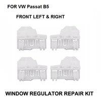 X4 Auto Plastic Clips Voor VW Passat B5 1996-2005 venster Regulator Reparatie Kit-2 Pairs Linksvoor En Rechts