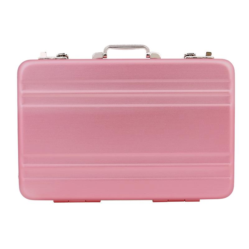 New Fashion Metal Mini Suitcase Business Card Name Card Holder Case ...