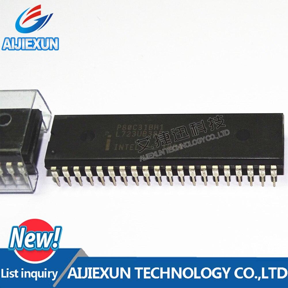 5 шт. p80c31bh1 микроконтроллер DIP-40 В наличии 100% новое и оригинальное