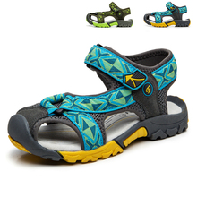 Summer Boys Sandals New Styles Children Casual Shoes Boys and Girls Fashion Designer Sandals Summer Beach Kids Shoes