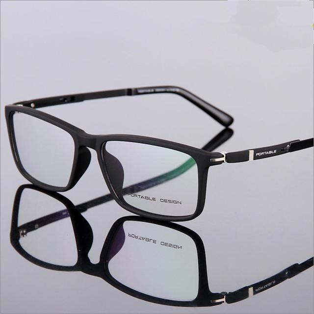 Designer de óculos Da Moda óculos de armação TR90 ultraleve miopia homens e mulheres retro frames de caixa olho óculos 9164 óculos de grau