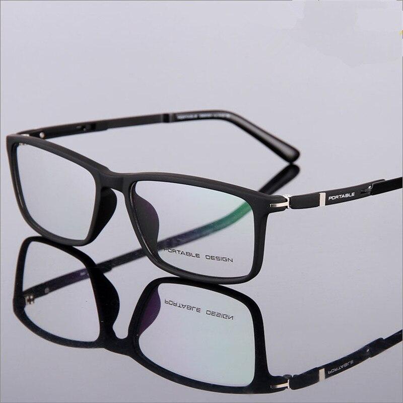 5d5575c60935 Designer glasses Fashion TR90 glasses frame ultralight myopia men ...