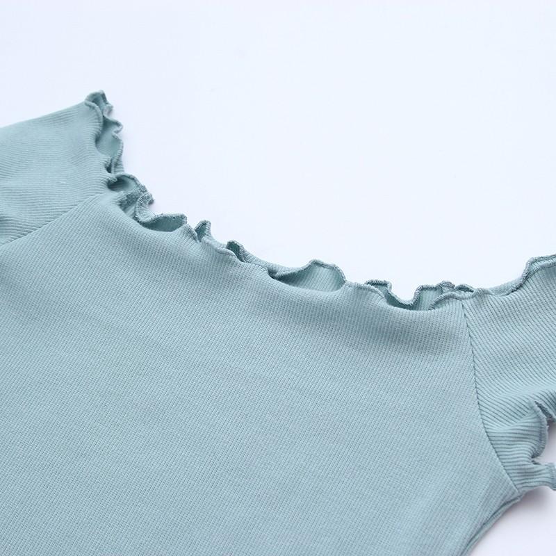 HTB1eUOBOVXXXXbGXpXXq6xXFXXXe - Striped Knitted Off Shoulder Slash Neck Short Sleeve T Shirt PTC 27
