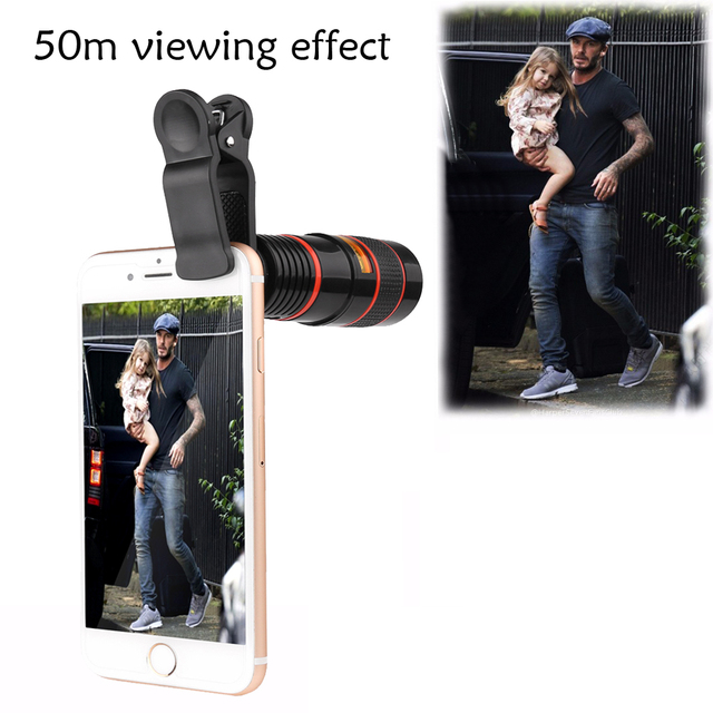 Portable Mobile Phone Telephoto Camera Lens