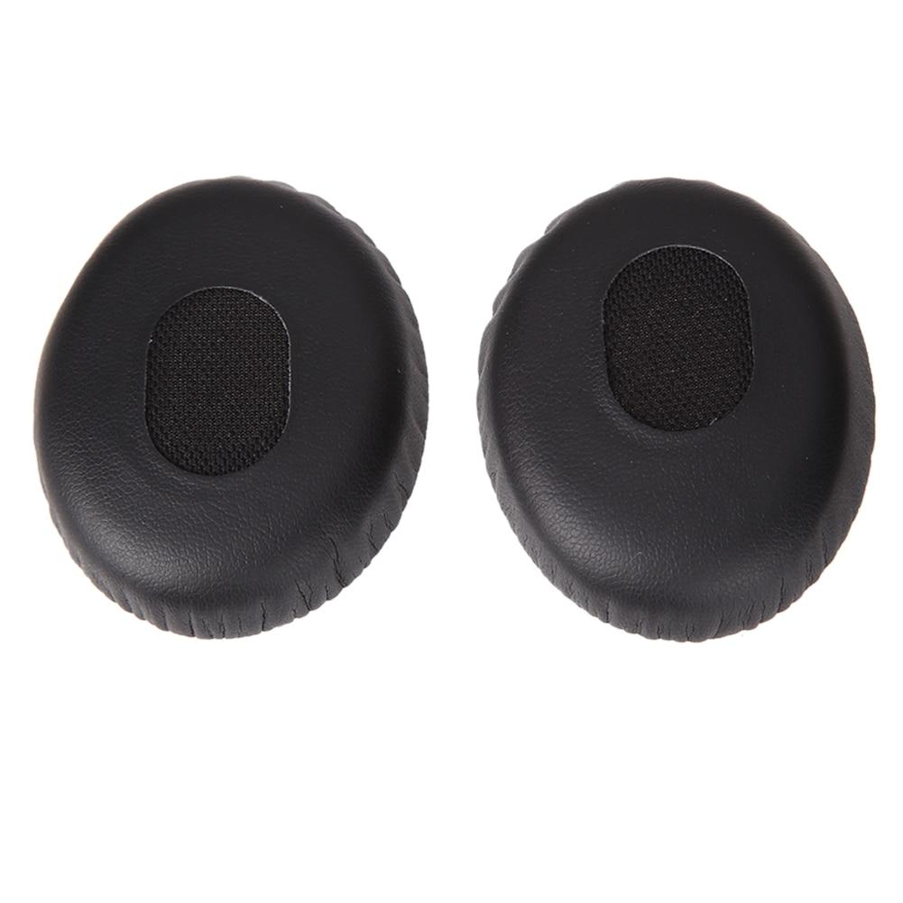 1 Pair Replacement Ear Pads Foam Cushion Earphone Earpads On-Ear Black Headphone for Bose Quiet Comfort QC3, BOSE ON EAR/OE