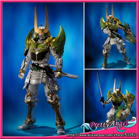 Genuine Bandai Tamashii Nations SIC / SUPER IMAGINATIVE CHOGOKIN Exclusive Gaim Kamen Rider Zangetsu Melon Arms Action Figure