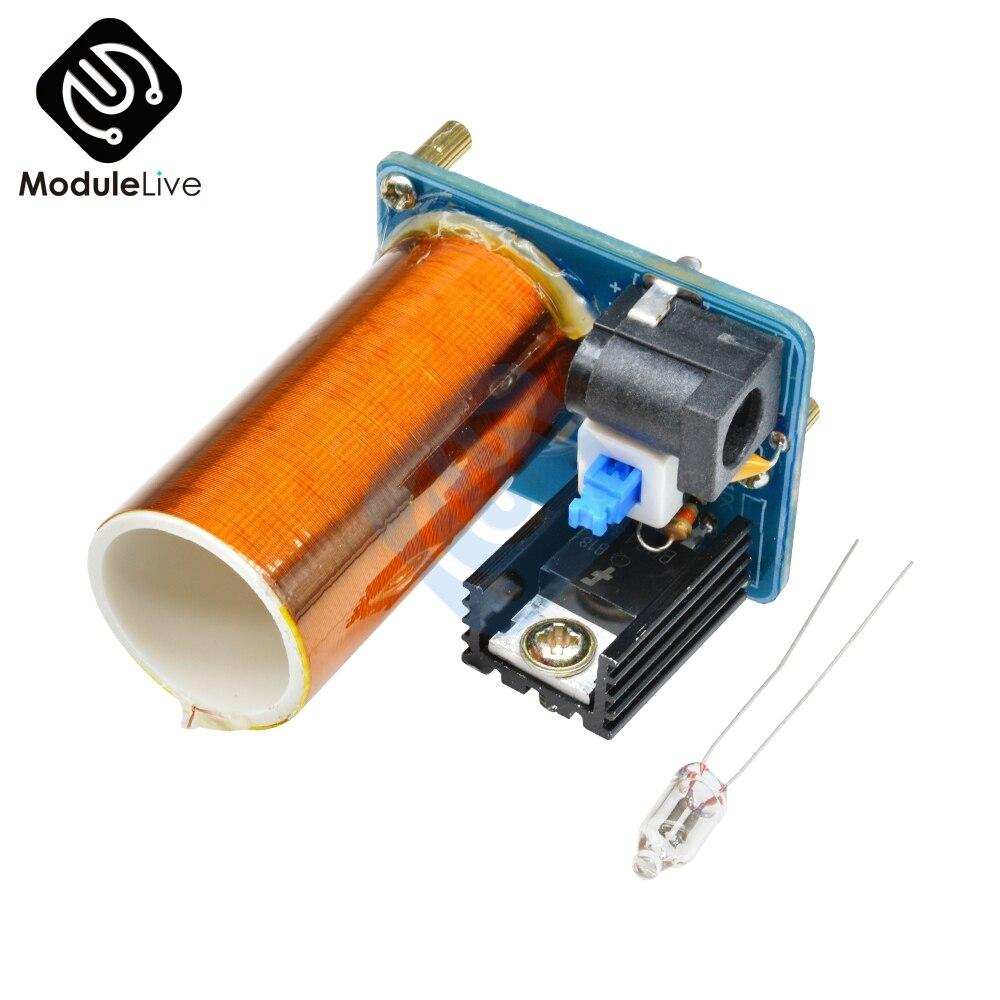 BD243 Mini Tesla Coil Kit Magic Magic Props Kit Spare Electronics Lights Parts