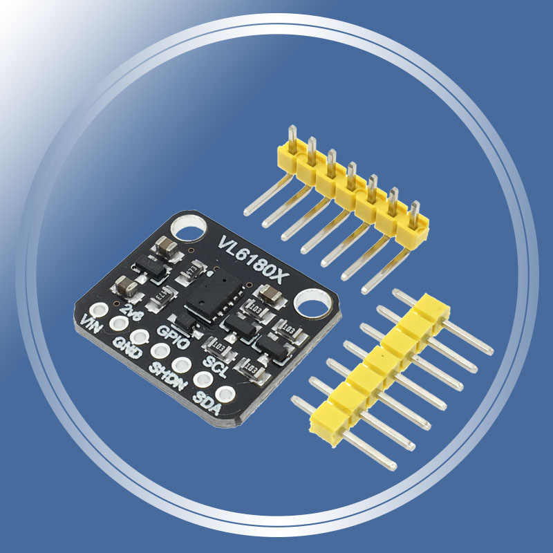 VL6180 VL6180X Range Finder Optical Ranging Sensor Module for Arduino I2C Interface Board IR Emitter Ambient Light High Accuracy