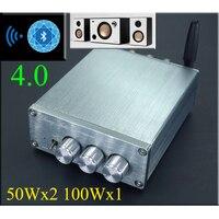 Amplifiers Breeze Audio PA3116 2 1 Bluetooth 4 0 Stereo Hifi Digital Power Amplifier 50W 2