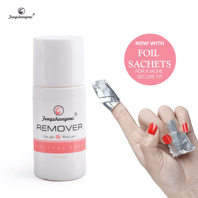 Fengshangmei 60ml None Acetone Gel Nail Polish Remover-in Nail ...