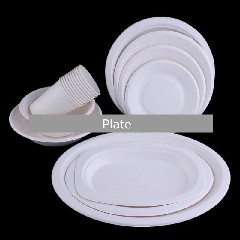 new fashion white colors kids diy disposable party paper plates and cups for birthday wedding