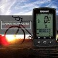 IPX7 водонепроницаемый велосипедный спидометр для велосипедного компьютера беспроводной Перезаряжаемый антибликовый экран велосипедный GPS...