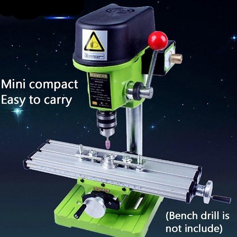 X Y-axis Adjustment Workbench мини-фрезерный станок Miller Multifunction Precision Bench дрель тиски приспособление DIY координатный стол