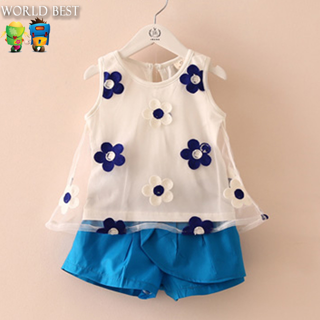 New summer style baby girl pants baby girl clothes cheap Designer clothes discounted