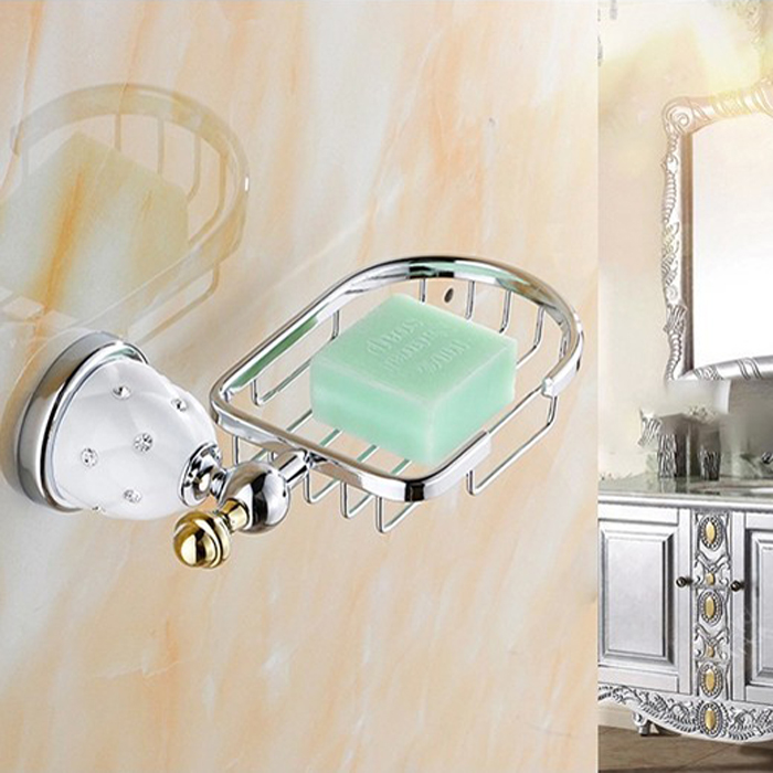 diamond bathroom accessories. Brass\u0026Silver Polished Bathroom Accessories Sets Diamond\u0026crystal Hardware Set Wall Mounted Products -in From Home Diamond