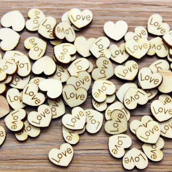 10PCS/LOT.Wood 1.8cm natural love heart without stickers Scrapbooking kit Wedding valentines crafts Craft material DIY toys OEM oem 10pcs lot 2015