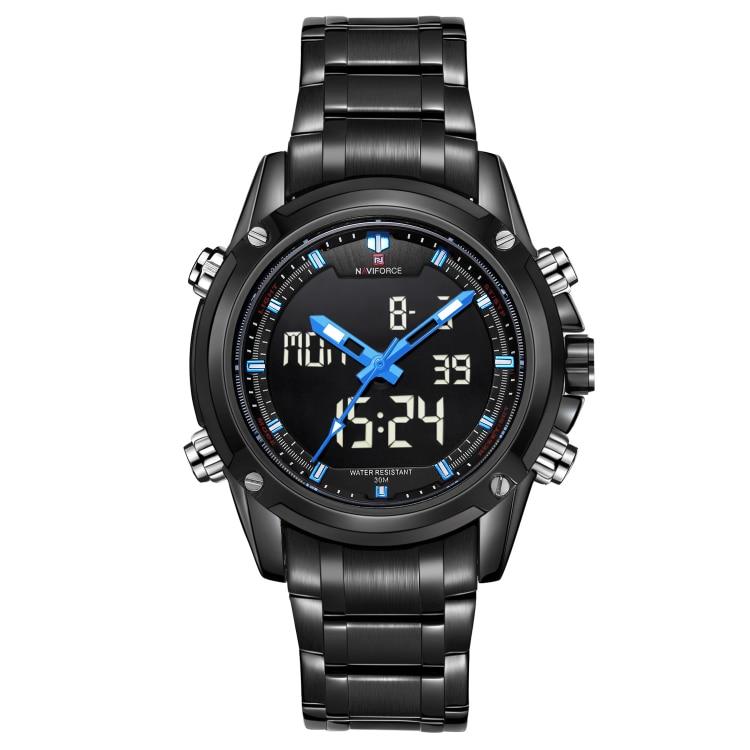 NAVIFORCE Man Watch Luxury Brand  Sport Quartz  Watches  Men's Clock Man Full Steel Casual Military Watch Relogio Masculino