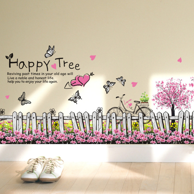 Wall Stickers Home Decor Living Room Tv Wall Decor Child Bedroom Vinyl Home  Decor Drop Shipping