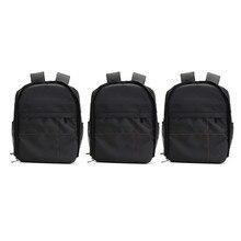 Водонепроницаемый цифровых зеркальных фото мягкий рюкзак W/дождевик laoto мульти-функциональный фотоаппарат мягкая сумка видео чехол