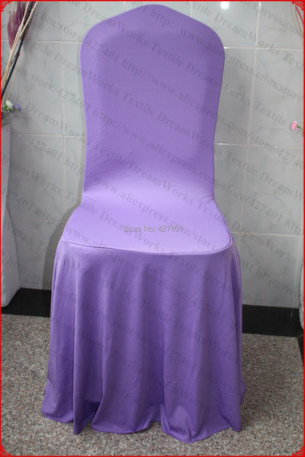 chair cover elegance childrens chairs target lavender elegant pleated swag spandex lycra backdrop for wedding party hotel banquet home decorations