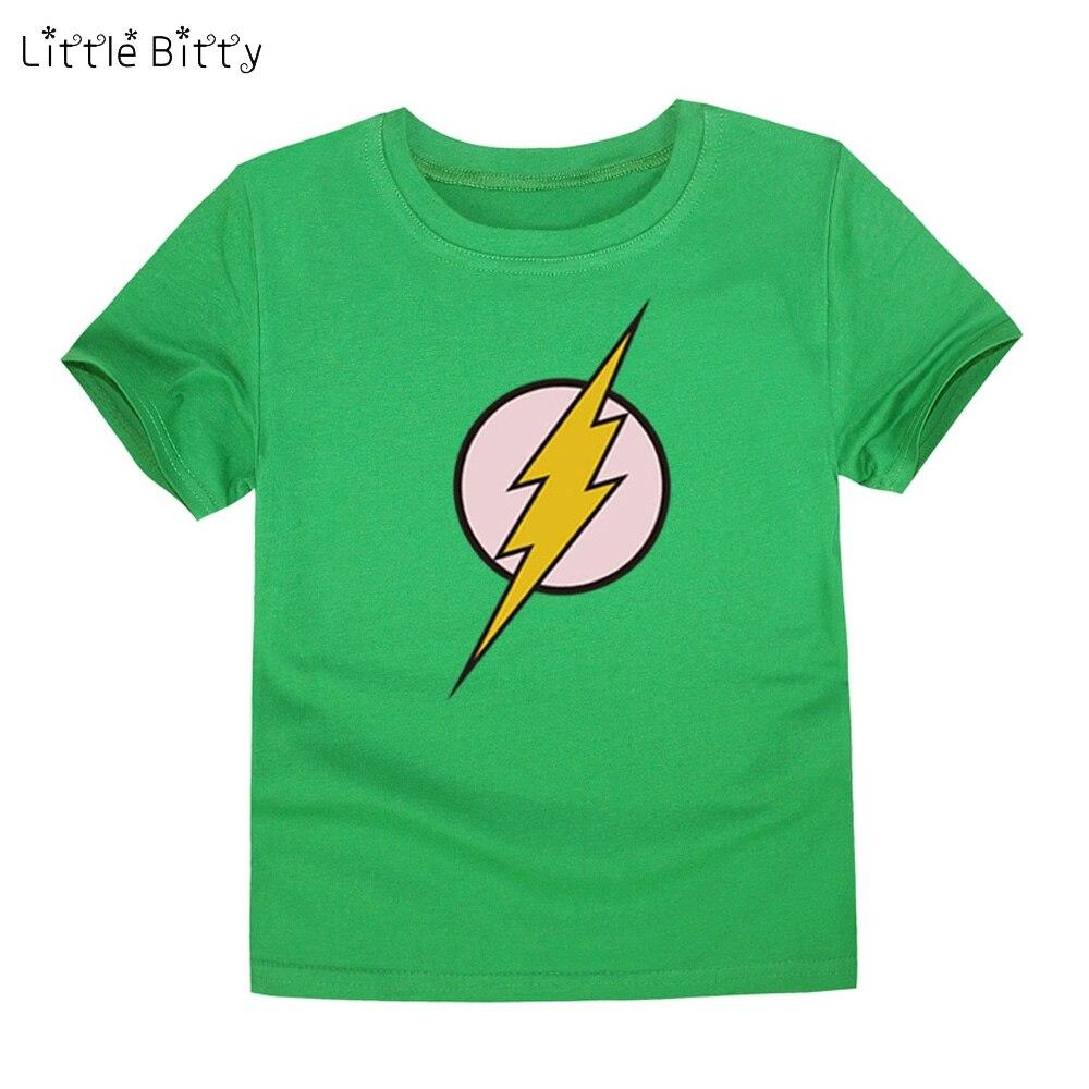 Shirt design for baby girl - Little Bitty 2017 Design Lightning T Shirt Boys T Shirt Kids Baby Girls Children T Shirts Child Short Sleeve Clothes For 2 14t