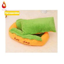 Hot Dog Bed Pet Winter Beds