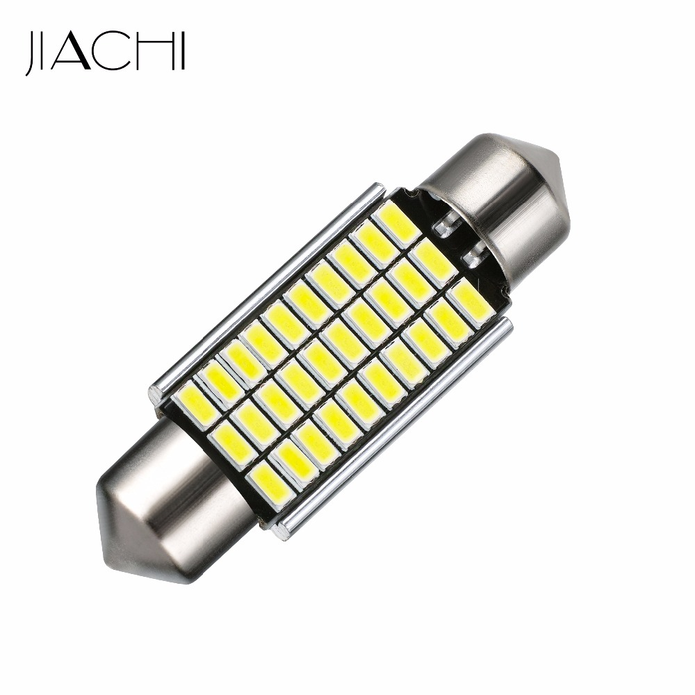 jiachi 100 x auto replacement led bulbs car lights 3014 30smd festoon 39mm c5w canbus reading. Black Bedroom Furniture Sets. Home Design Ideas