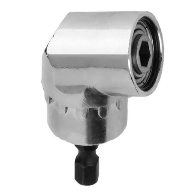 Nueva herramienta de mano de destornillador de ángulo recto ajustable de 105 grados Herramientas de alta calidad 1/4 vástago hexagonal Herramienta de brocas de destornillador eléctrico