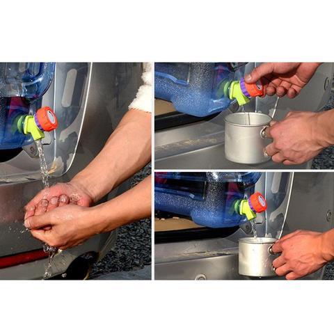 engrossar saco de agua plastico tanque