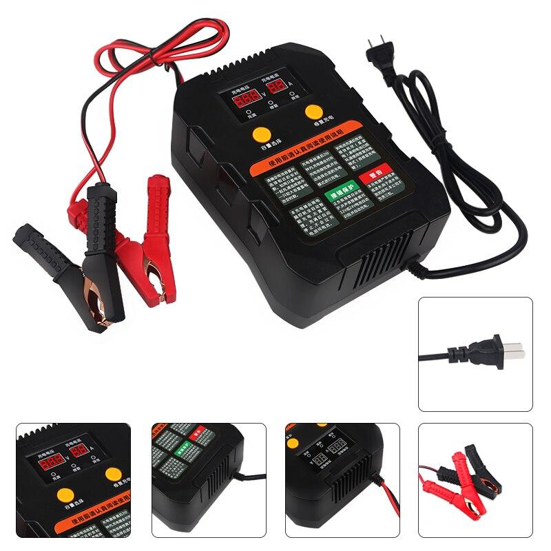 Urbanroad Entièrement automatique Moto Intelligente Chargeur de Batterie Pour Voiture Bateau Chargeur De Batterie De Voiture Intelligente 12 v Batterie Au Plomb