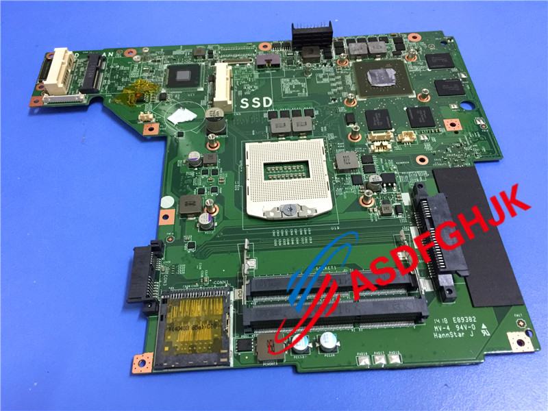 Original stock for Msi GE60 LAPTOP MOTHERBOARD MS-16GF MS-16GF1 Ver 3.0 100% Test OK motherboard for msi a6200 ms 16811 ver 1 1 model 100